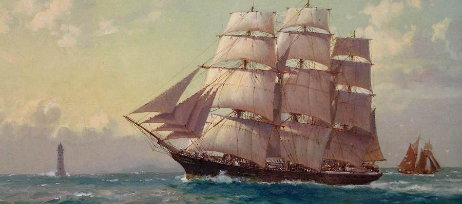 Clipper Ship 'City of Adelaide'